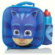 PJ Masks 3D Lunch Bag(275x240x90mm)w Bottle 500ml Insulated Box for School Kids