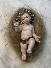 10 JESUS KRIB MAGER BAMBINO GESU'  BAMBINELLO Neapolitan Infant