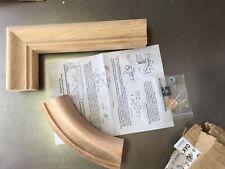 S-7099-O L.J. Smith Red Oak Straight Gooseneck Handrail Fitting Gn 2 Rise No Cap
