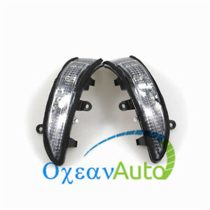 2PCS Mirror Turn Signal Light Lamp For Subaru Forester Outback Legacy 84401AG042