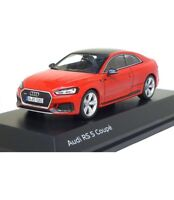 Original Audi RS 5 Coupe 1:43 model car Misano Red 5011715031  miniature New