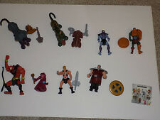 McDonalds 2003 Masters of the Universe Happy Meal Set of 8 Figures