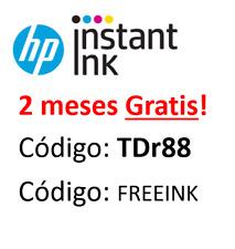 2 meses gratis hp instant ink para tu impresora HP 🖨️