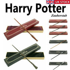 Magic Wand Harry Potter Hermione Dumbledore Voldemort Metal Wand Toy Gift Box UK