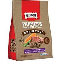 Milk-Bone Farmer's Medley Dog Treats, Lamb & Spring Vegetables