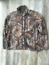 GUIDE SERIES GANDER MOUNTAIN HOT STUFF HAT JACKET MENS L COAT HUNT CAMOUFLAGE A+