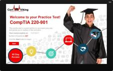 CompTIA A+ 220-901 Exam using an eLearning Engine Simulator. Over 400 Questions