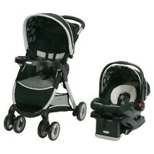 Graco FastAction Fold/Click/Connect Travel System