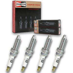 4 pc Champion Iridium Spark Plugs for 2007-2020 Nissan Versa 1.6L 1.8L L4 pw