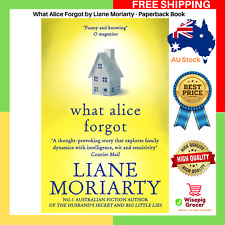 What Alice Forgot Liane Moriarty Paperback Book | NEW | FAST & FREE SHIPPING