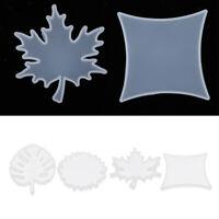 Silikon Ornamente Form Untersetzer DIY Epoxidharz Gussformen für Seifenkerzen