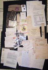 WW2 KIA Grouping.  Telegrams, Letters, Photos etc. 15th AAF pilot.  Massive.