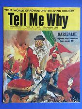 TELL ME WHY - Your World de aventure - NUMERO 21 - Janvier 1969 - Merveilles