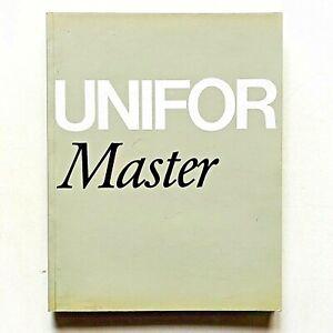 Catalogo Unifor Master Design Afra e Tobia Scarpa fotografie Gabriele Basilico