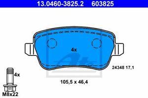 ATE 603825 PASTIGLIE POSTERIORI FIAT CROMA (05-)