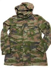J. Crew Womens Boyfriend Cotton Hooded Camouflage Military Fatigue Jacket – SZ M
