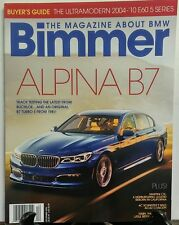 Bummer December 2016 Alpina B7 Buyer's Guide Track Testing FREE SHIPPING sb