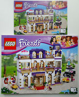 Lego Friends 41101 Heartlake Grand Hotel Instruction Manual BOOKS ONLY new
