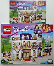 Lego Friends 41101 Heartlake Grand Hotel Instruction Manual books only