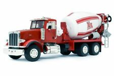 Peterbilt Model 367 Cement Mixer Tractor, Red - Tomy 46210A - 1/16 Scale