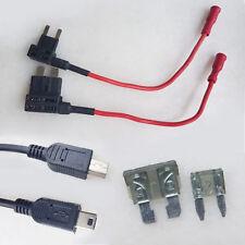 2 X nuevo 12V/24V 5 V mini tipo B de 5 Pines USB Cargador De Coche Módulo Convertidor DC