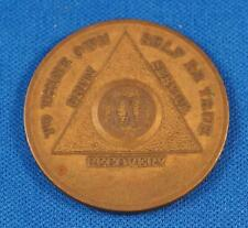 Vintage To Thine Own Self Be True Unity Service XXI Year Recovery Medallion Coin