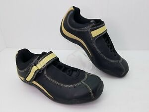 Specialized Body Geometry Womens Sonoma Cycling Shoes Sz 7 EU 37 Black Gold P52