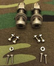 STAINLESS STEEL OPTI BOLTS TO FIT 2x OLD SCHOOL BITE ALARMS