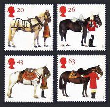 GB Gomma integra, non linguellato Stamp Set 1997 tutti i cavalli QUEEN'S SG 1989-1992 10% di sconto per qualsiasi 5+
