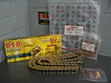 YAMAHA R6 CHAIN AND SPROCKET KIT 03-05 HEAVY DUTY GOLD X-RING