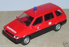 MICRO RIETZE HO 1/87 MITSUBISHI SPACE WAGON FEUERWEHR 112 FIRE POMPIERS