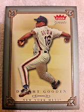 2004 FLEER GREATS DWIGHT DOC GOODEN NEW YORK METS 83/85 NM 00038