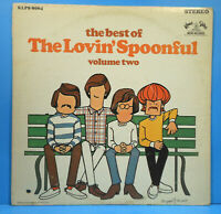 THE BEST OF THE LOVIN' SPOONFUL VOL 2 LP 68 ORIGINAL GREAT CONDITION! VG+/VG+!!C