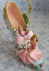Disney Princess Sleeping Beauty-Aurora Bradford Exchange Hanging Shoe Ornament.