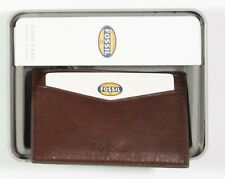 Fossil Ingram Card Case New Wine 30.00 Leather
