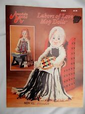 Labors of Love Mop Dolls  ANNIE'S ATTIC SEWING CRAFT PATTERN BOOK LEAFLET
