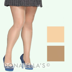 MULTIPACK - plus size SHEER TIGHTS XL 2x 3x 16 18 20 22 24 26 petite tall short