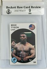 1987 Panini Supersport Mike Tyson card BGS RCR Graded 9 Beckett $399 OBO