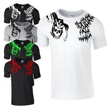 Skull Loose Fit Regular Size T-Shirts for Men