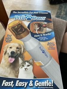 Pedi Paws Pet Nail Trimmer New in Box