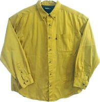 Guide Series Mens L Fishing Working 100% Cotton Long Sleeve Button Down Shirt