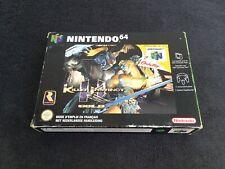 Nintendo 64 Killer Instinct Gold FAH Très Bon état