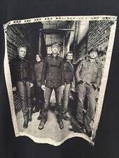 """3 Doors Down Concert 2011 Tour Black T-Shirt Mens L 45"""" 100% Cotton Band Photo"""