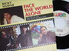 "7"" - Ricky Shayne Face the World alone & Bright Eyes - 1988 MINT # 5639"