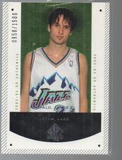 RAUL LOPEZ 2002-03 SP AUTHENTIC ROOKIE F/X CARD #200 /1500