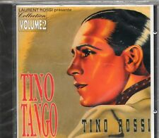 CD 18T  TINO ROSSI   TINO  TANGO ( LAURENT ROSSI   )   DE 1994   NEUF SCELLE