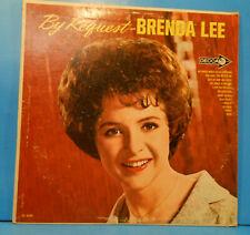BRENDA LEE BY REQUEST VINYL LP 1964 MONO ORIGINAL PRESS CONDITION! VG/VG+!!