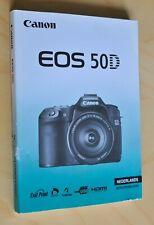 Instructiehandleiding, manual de instrucciones para Canon eos50d (nierderländisch)