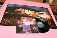"SIMPLE MINDS 10"" BOOK OF BRILLIANT THINGS LIVE ORIG UK 1987 + POSTER !!!!!!!!!"