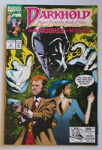 Darkhold Pages from the Book of Sins #3 1992 Marvel Comic Book Horror 6205